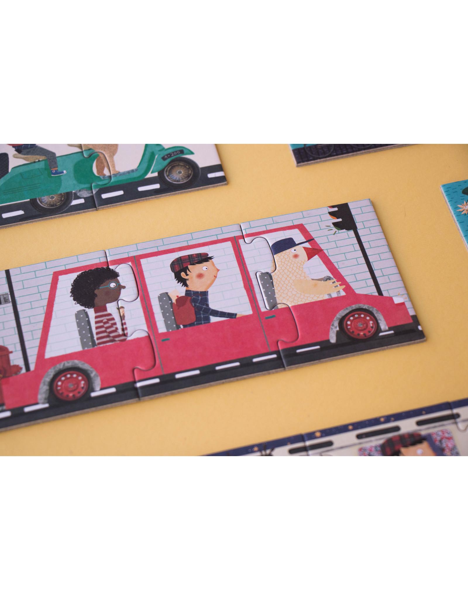 Londji Londji Puzzle -10 Travelers