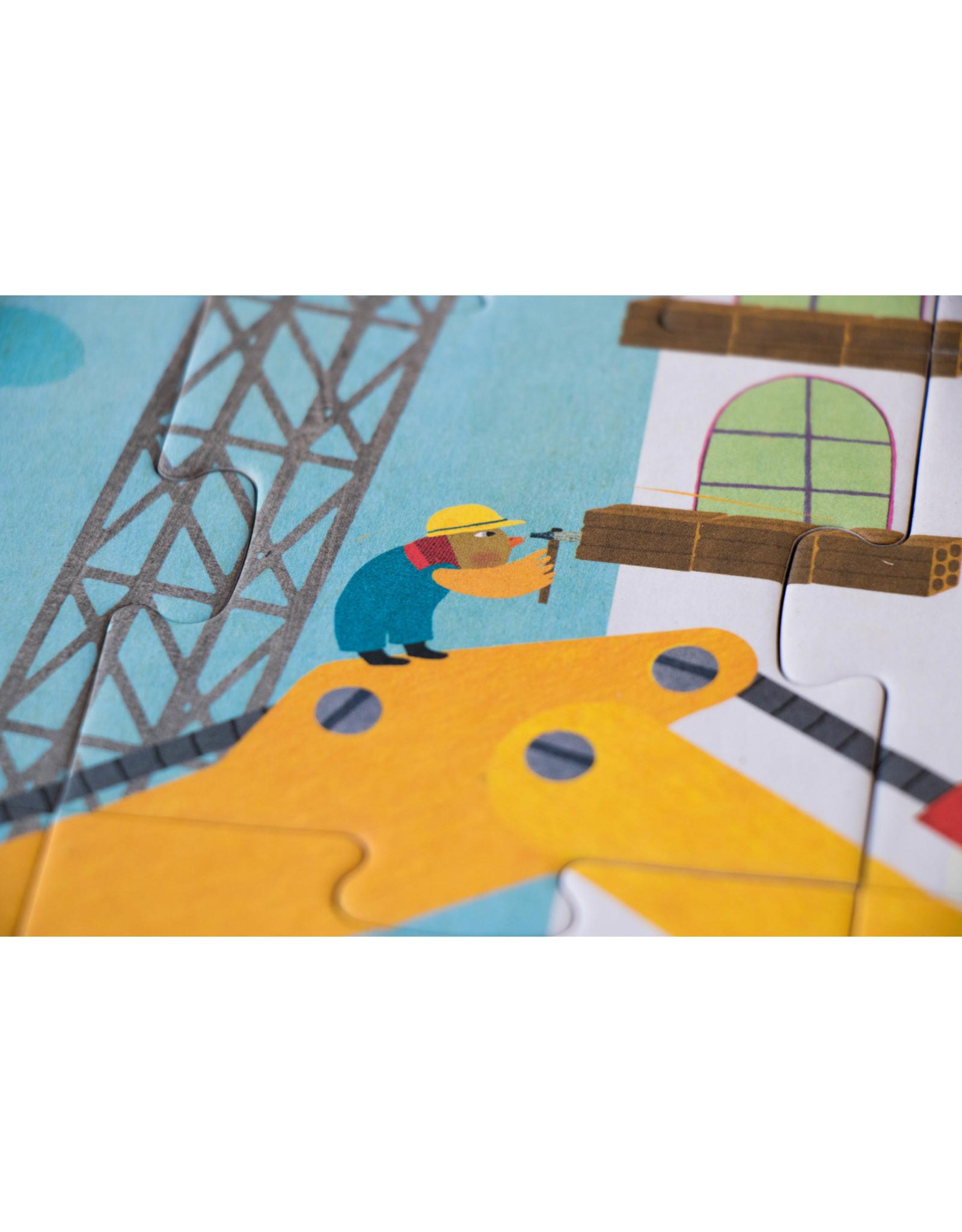 Londji Londji Puzzle - I want to be... Builder