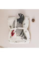 Main sauvage Main Sauvages Lange 110 x 110 Pigeons Ecru