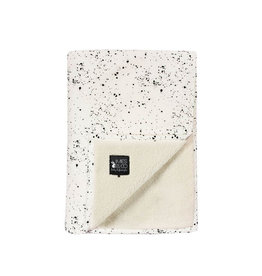 Mies & Co Mies & Co Baby Soft Teddy Blanket - Galaxy Offwhite 110X140