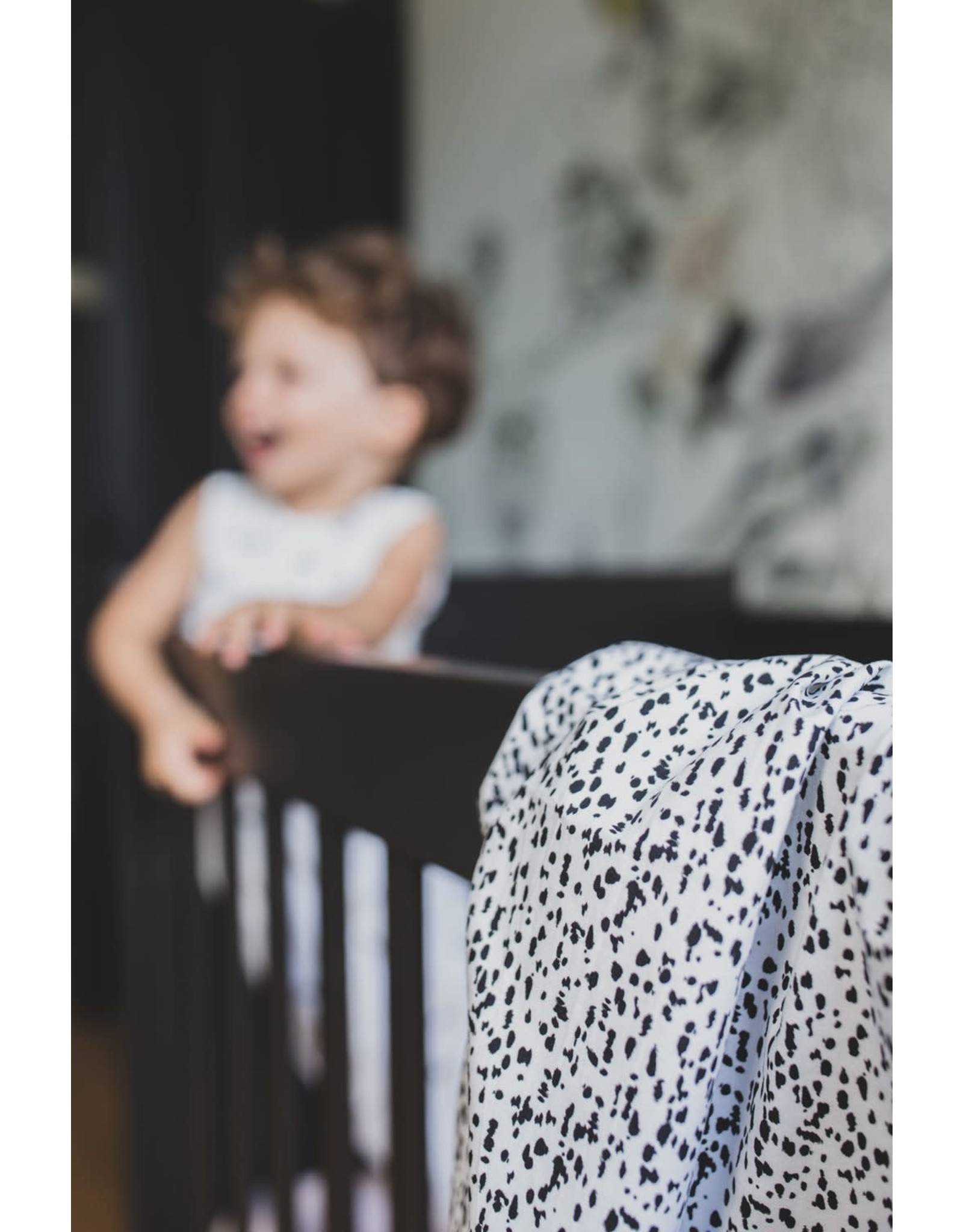Mies & Co Mies & Co Baby Soft Teddy Blanket - Wild Child Offwhite 70x100