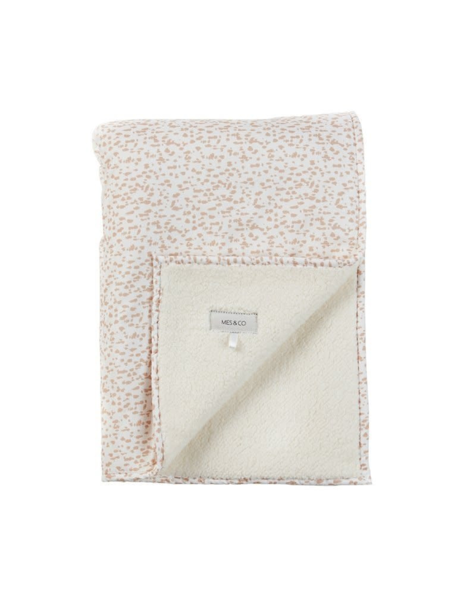 Mies & Co Mies & Co Baby Soft Blanket - Wild Child Chalk Pink 70x100