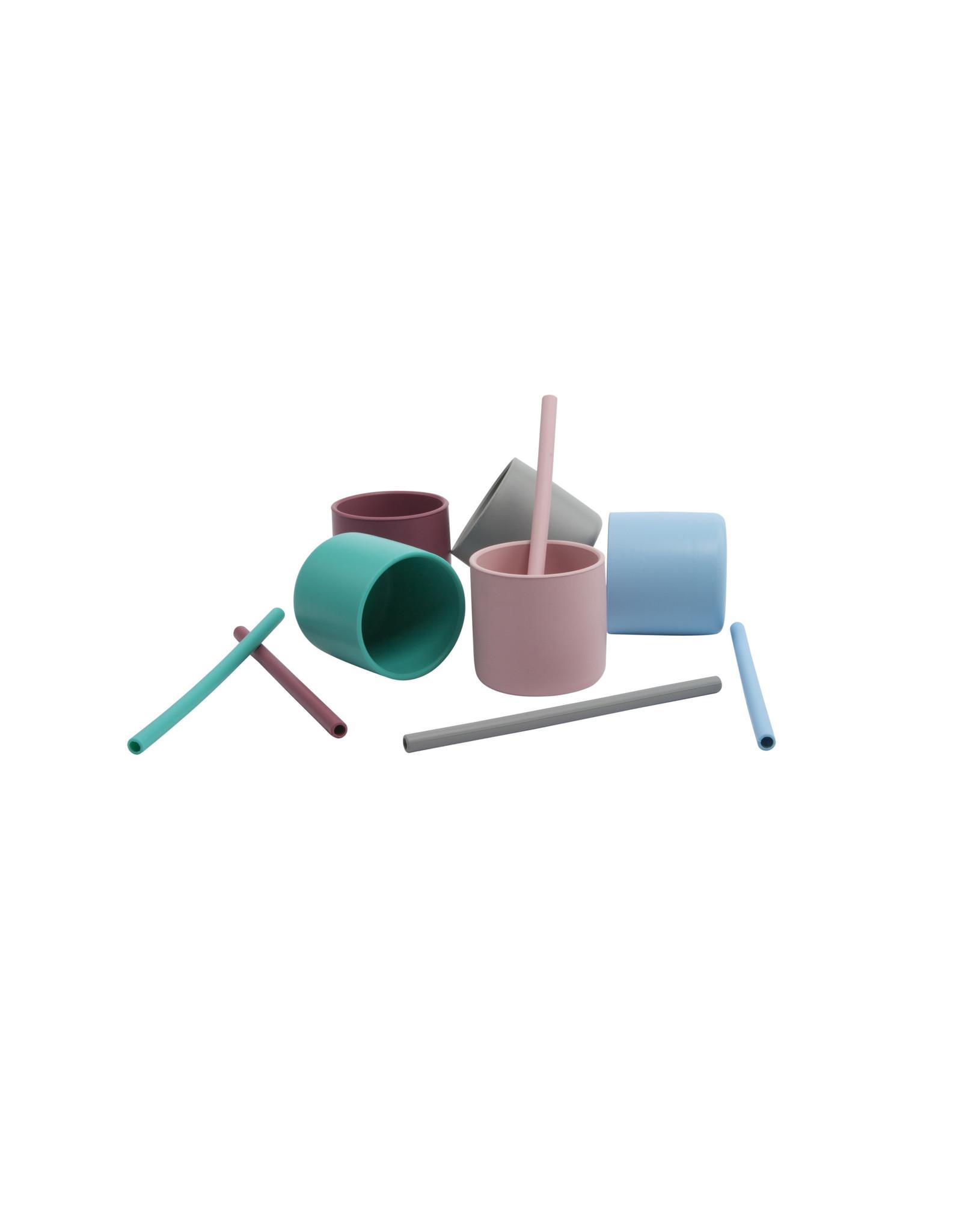 MiniKOiOi Minikoioi Rietje Mix Groen, Grijs, Donkerroze & Roze