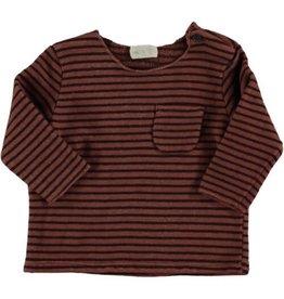 Beans Barcelona Beans Barcelona Sweater Striped Warm Fleece Tile