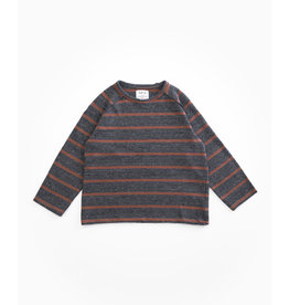 Play Up Play Up striped jersey sweater woodwork