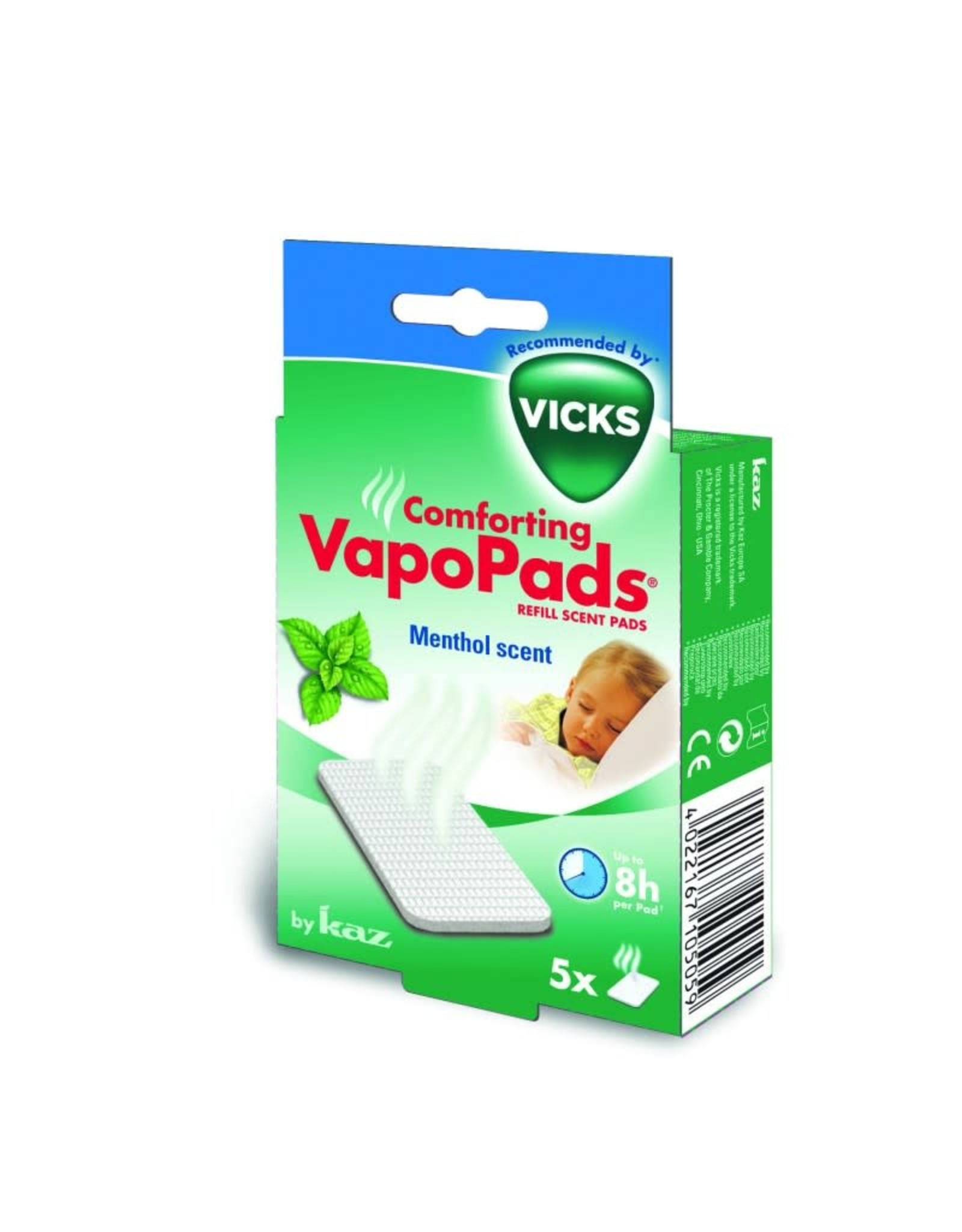 Vicks Vicks Pads Menthol