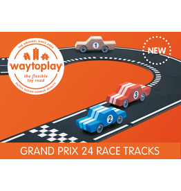 Way To Play Waytoplay Flexibele Autobaan Grand prix 24 Stuks