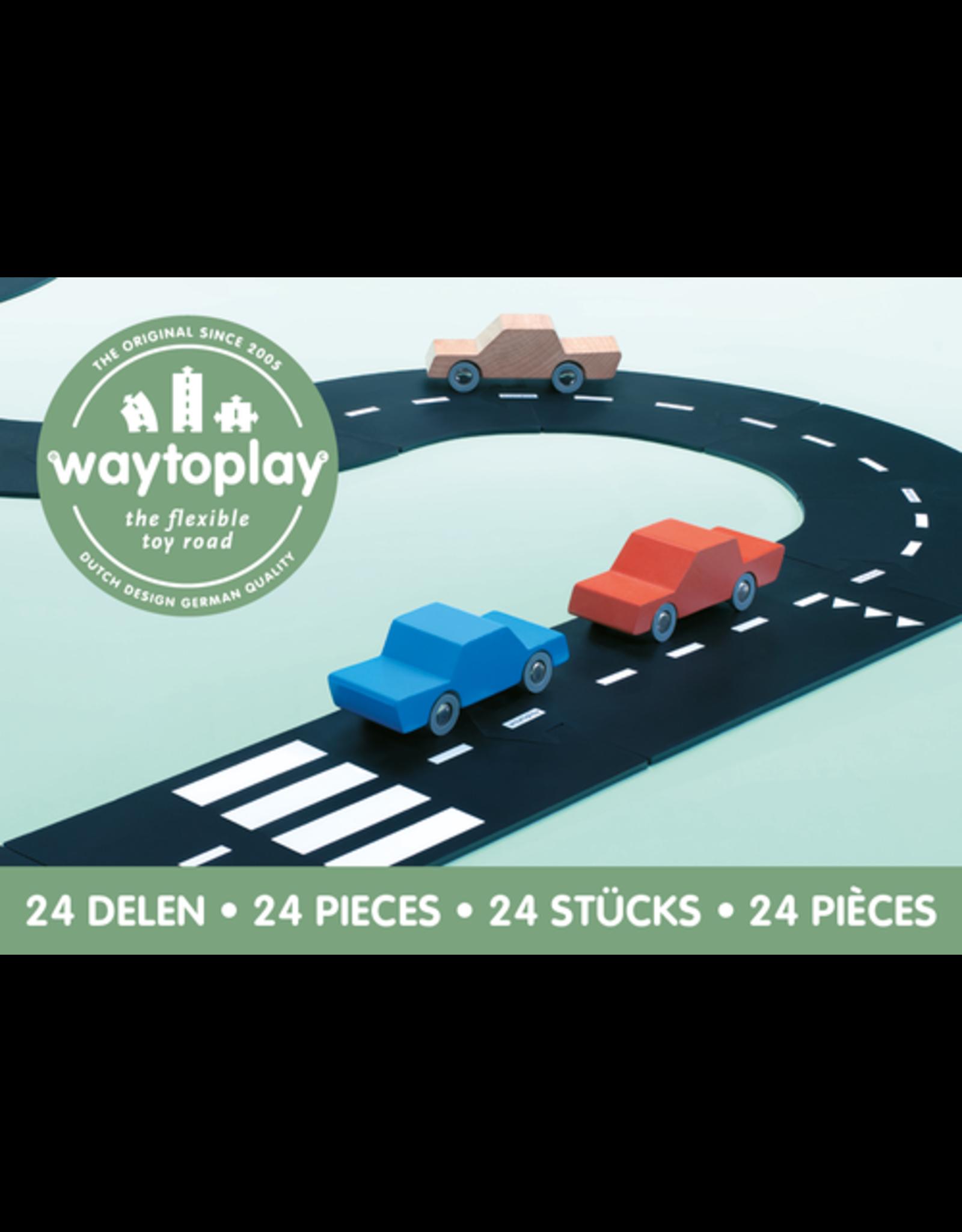 Way To Play Waytoplay Flexibele Autobaan Snelweg 24 Stuks