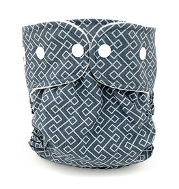 WeeCare WeeCare Overbroekje Infinity - Dusty Blue / Midnight Blue M (6-10kg)