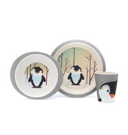 Yuunaa Yuunaa Kinder Servies Pinguin