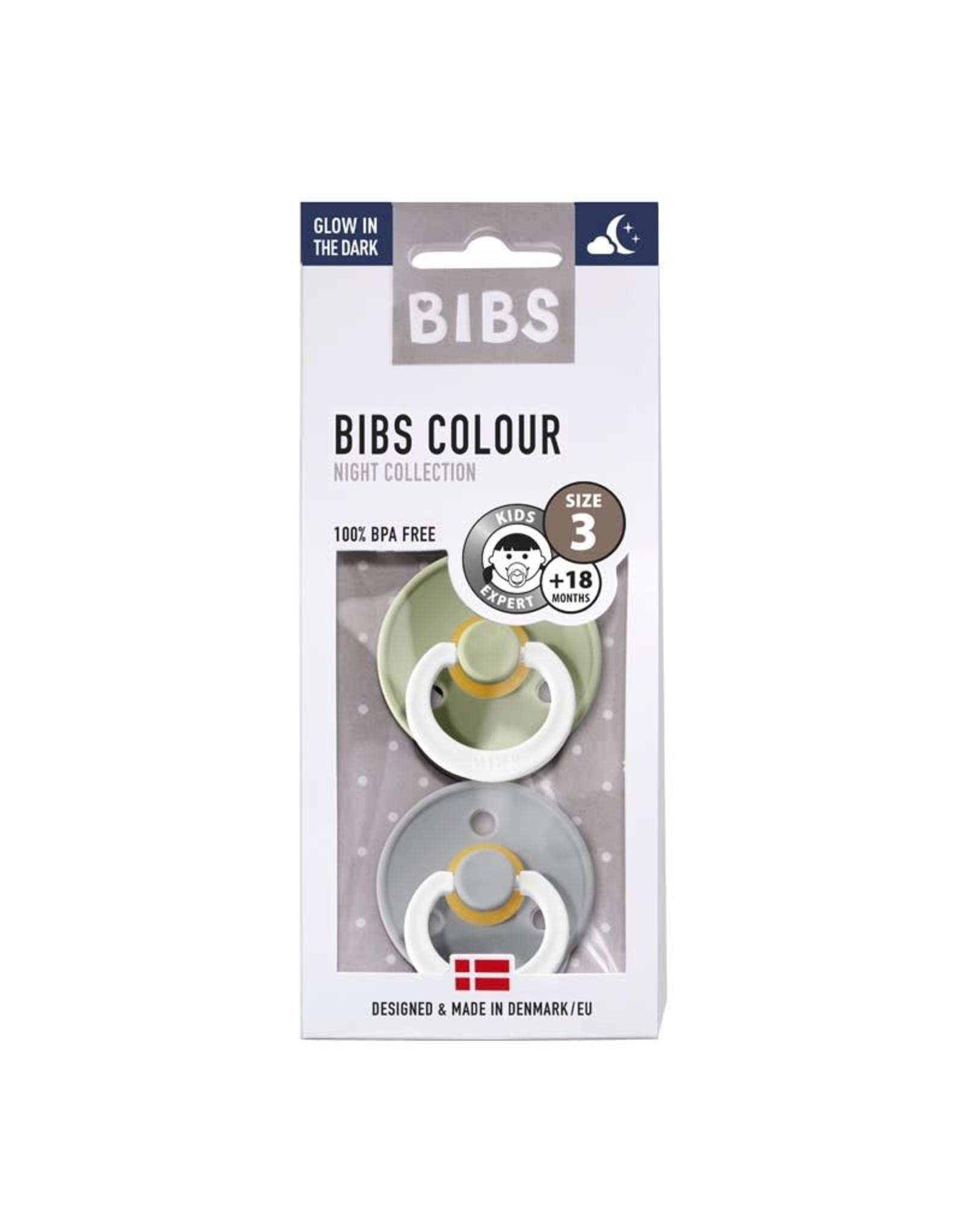 Bibs BIBS - Fopspeen Natuurrubber - Blister Sage / Cloud T3