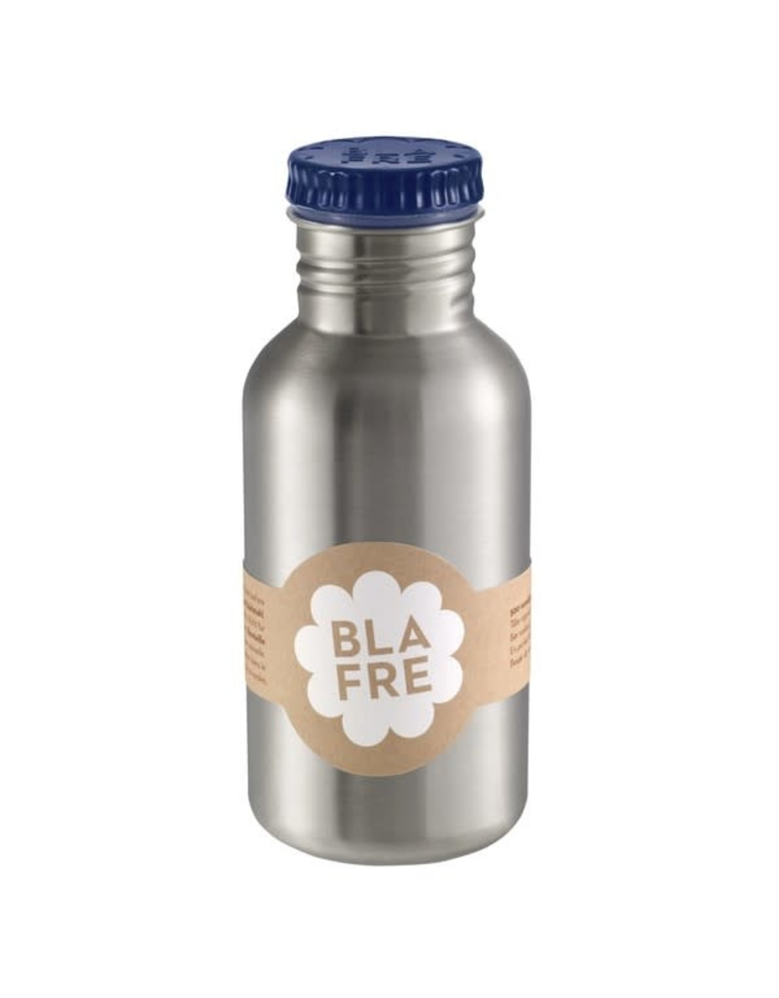 Blafre Blafre Drinkfles 500ml Donker Blauw