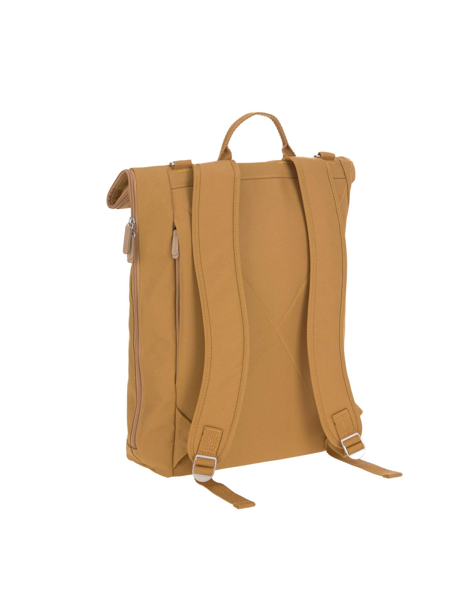 Lassig Lassig Greenlabel Rolltop Backpack Curry