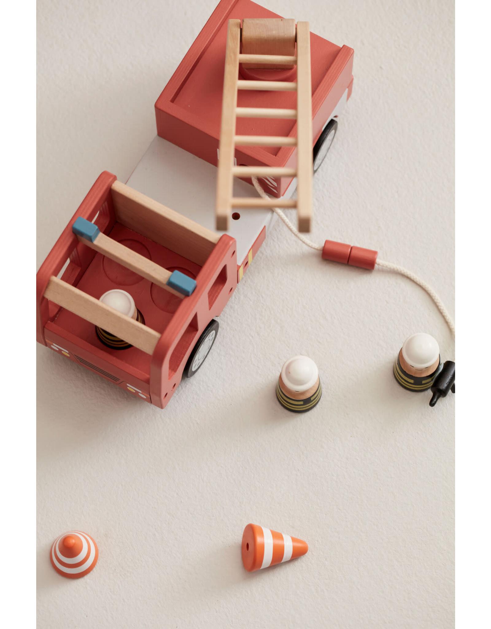 Kid's concept Kid's Concept Brandweerauto Aiden