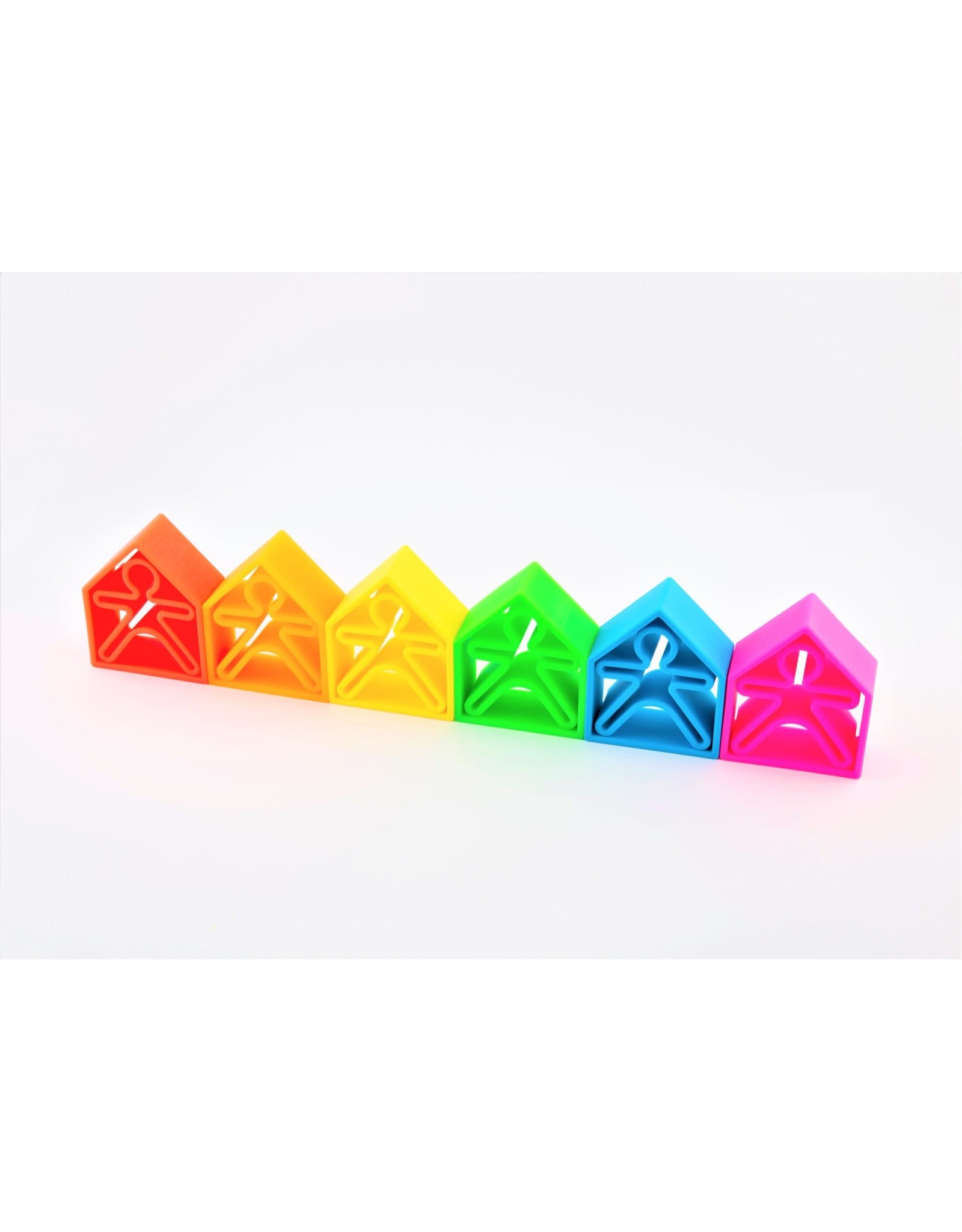 Dëna Dëna 6Kids + 6 Houses Neon