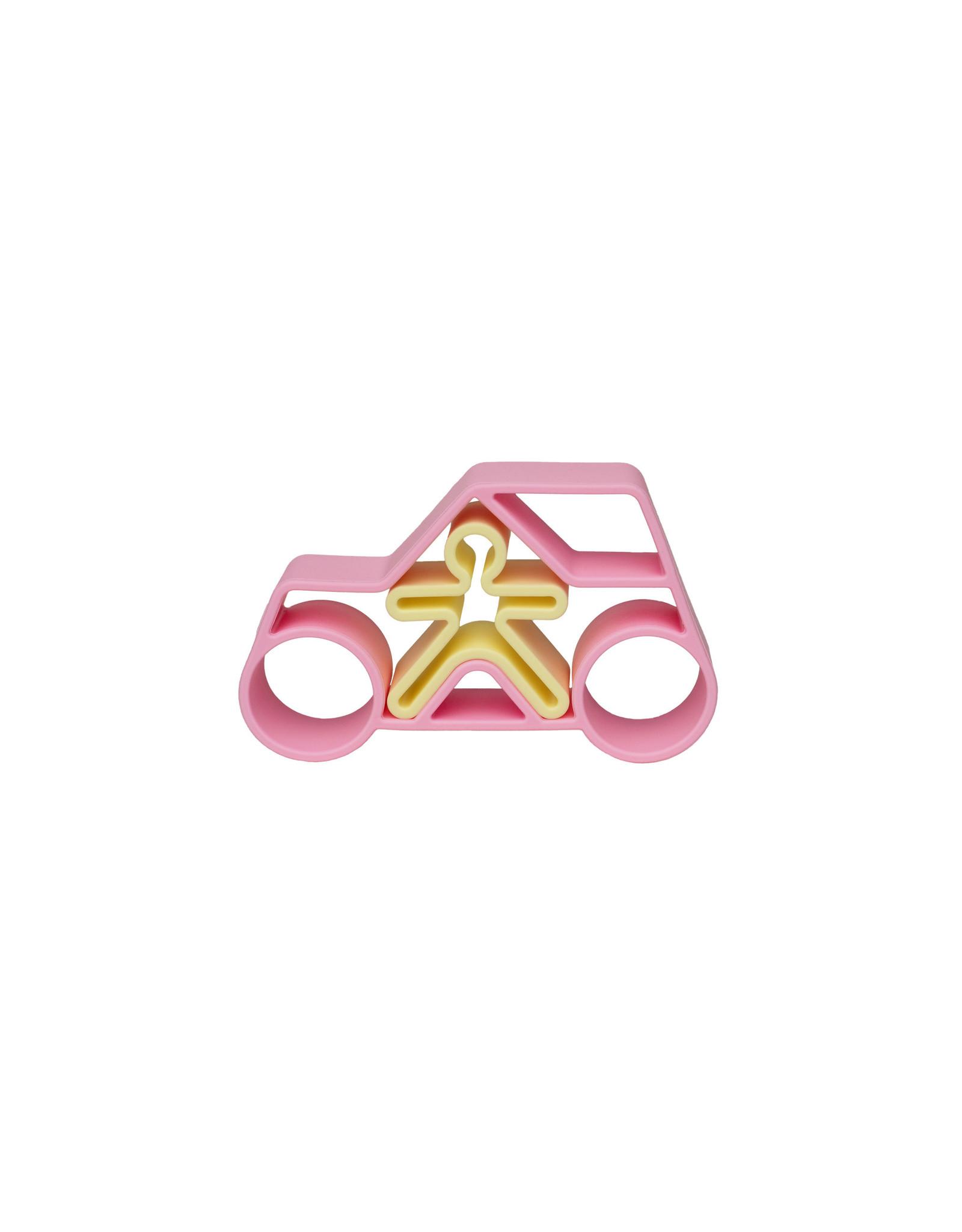 Dëna Dëna 1 Car + 1 Kid Pink Pastel
