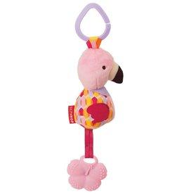 SkipHop Skip Hop Bandana Buddies Chime & Teether Flamingo