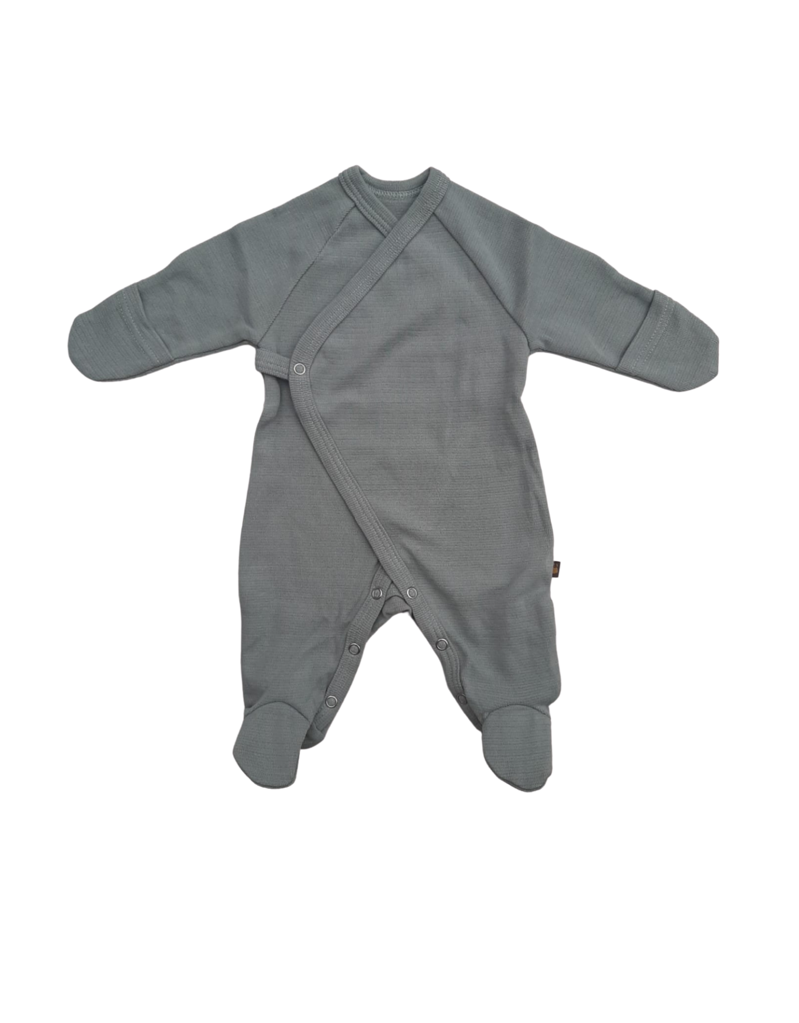 Forgaminnt Forgaminnt Pyjama met Voetjes (wrap) Abyss 0-3m