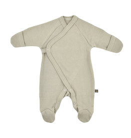 Forgaminnt Forgaminnt Pyjama met Voetjes (wrap) Sage 0-3m