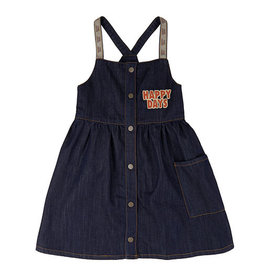 Carlijn Q Carlijn Q Happy Days Dress + Embroidery (denim)
