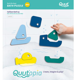 Quut Quutopia Bath Puzzle Rock The Boat