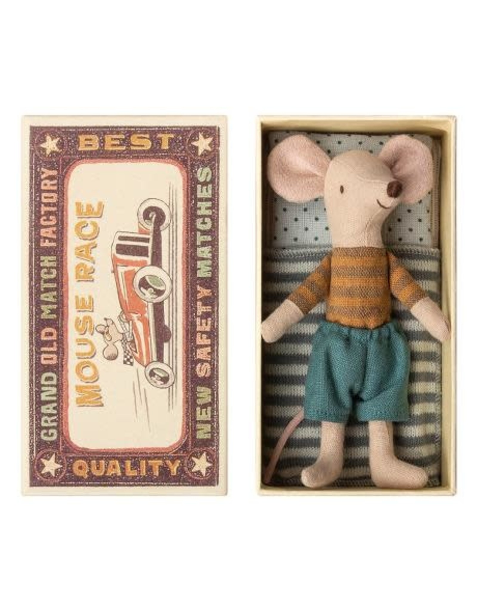 maileg Maileg Big Brother Mouse In Box