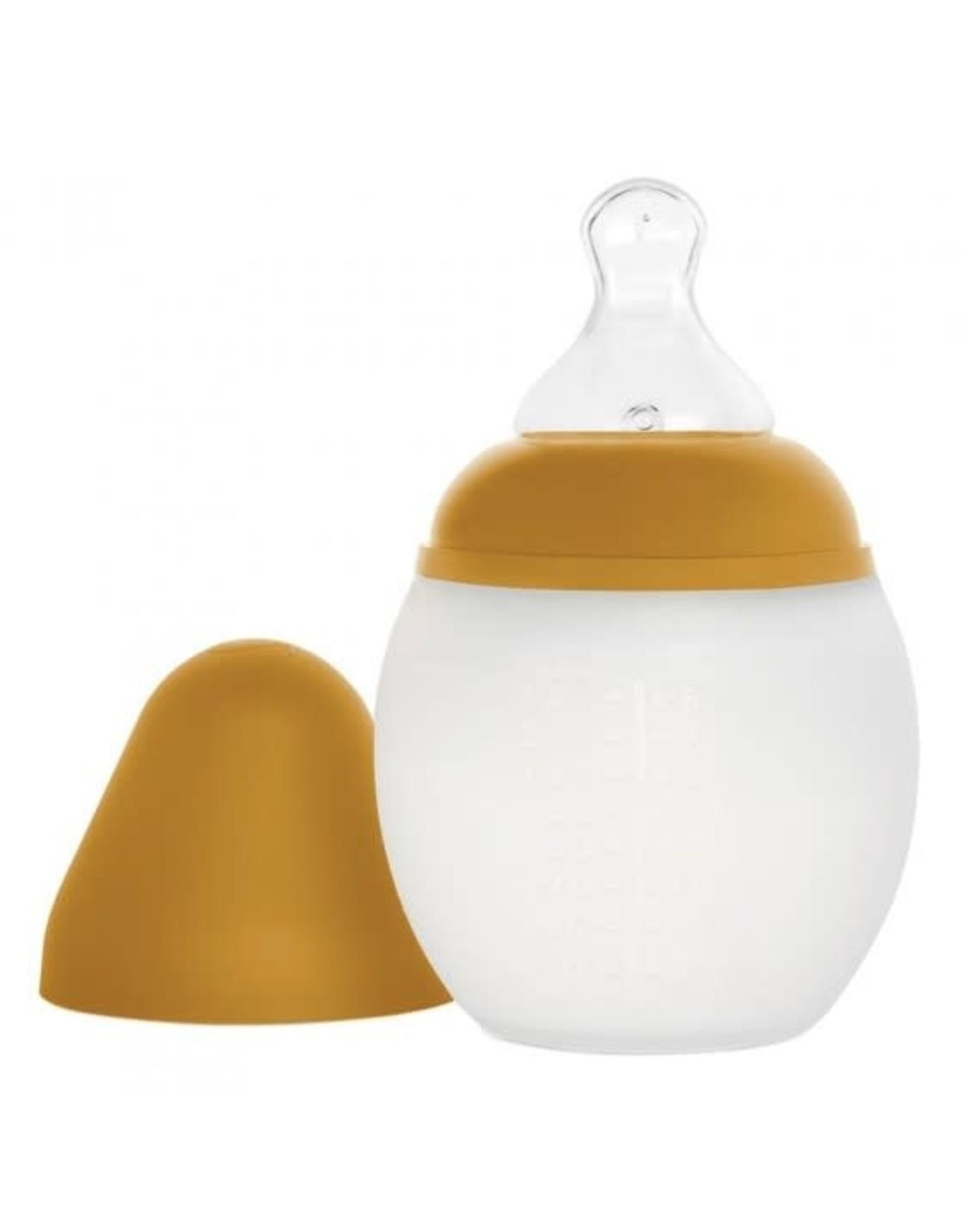 Elhée Elhée Silicone Babyfles Mustard
