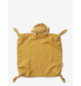 Liewood Agnete Cuddle Cloth - Dino Yellow Mellow