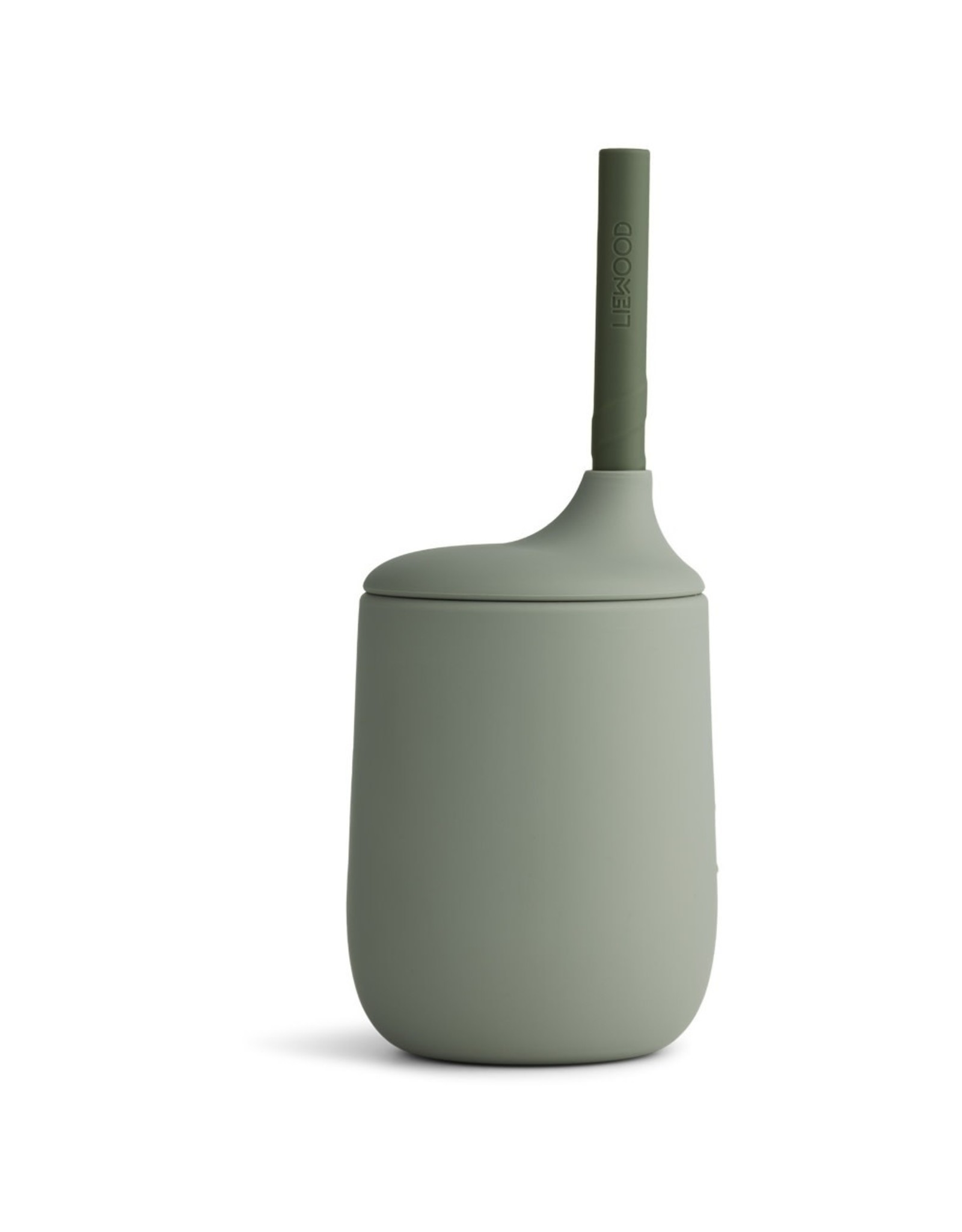 Liewood Ellis Sippy Cup - Faune Green/Hunter Green mix