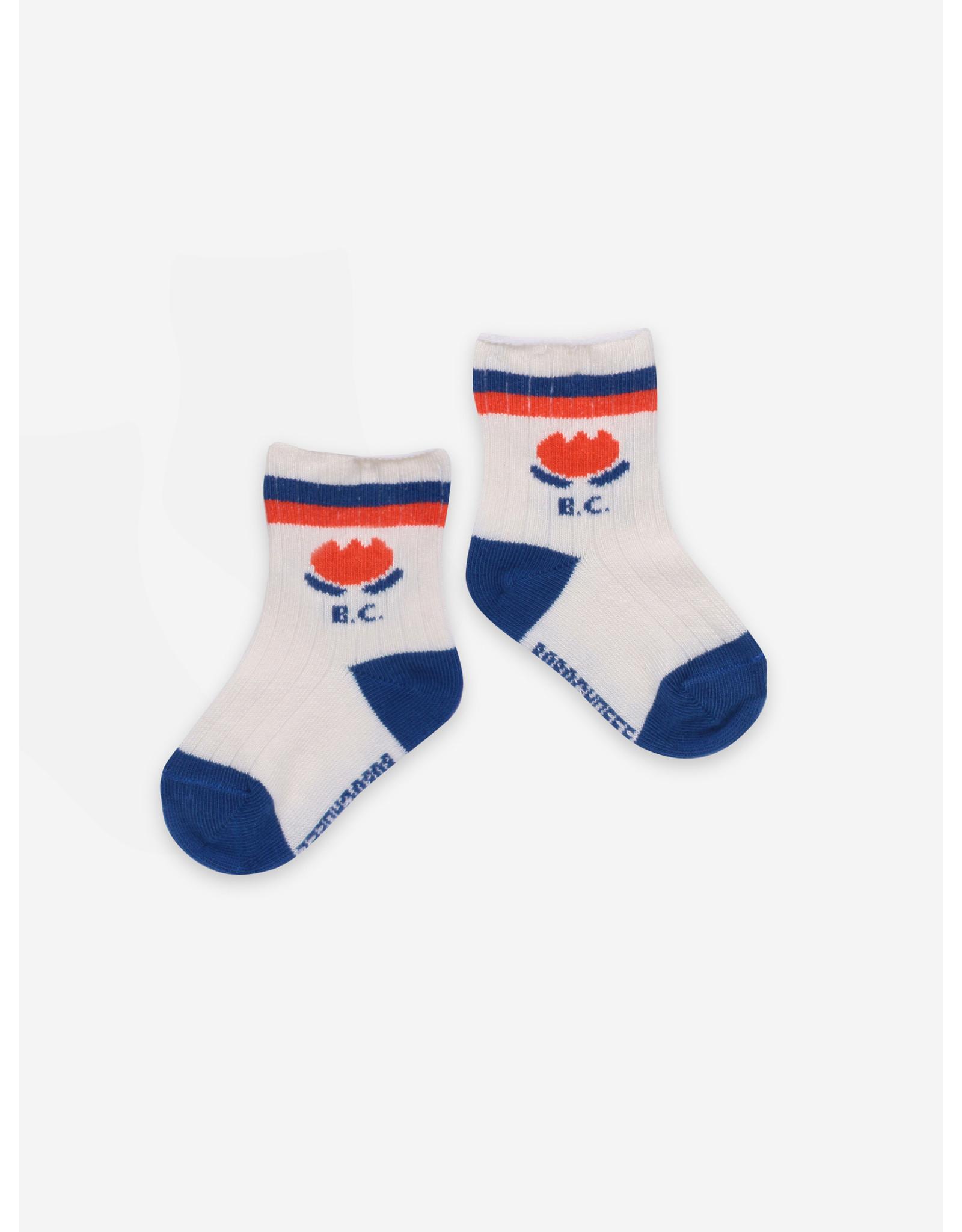 Bobo Choses Bobo Choses Chocolate Flowers Baby Socks