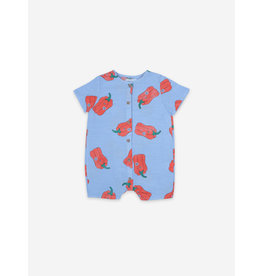 Bobo Choses Bobo choses Vote For Pepper All Over Woven Playsuit