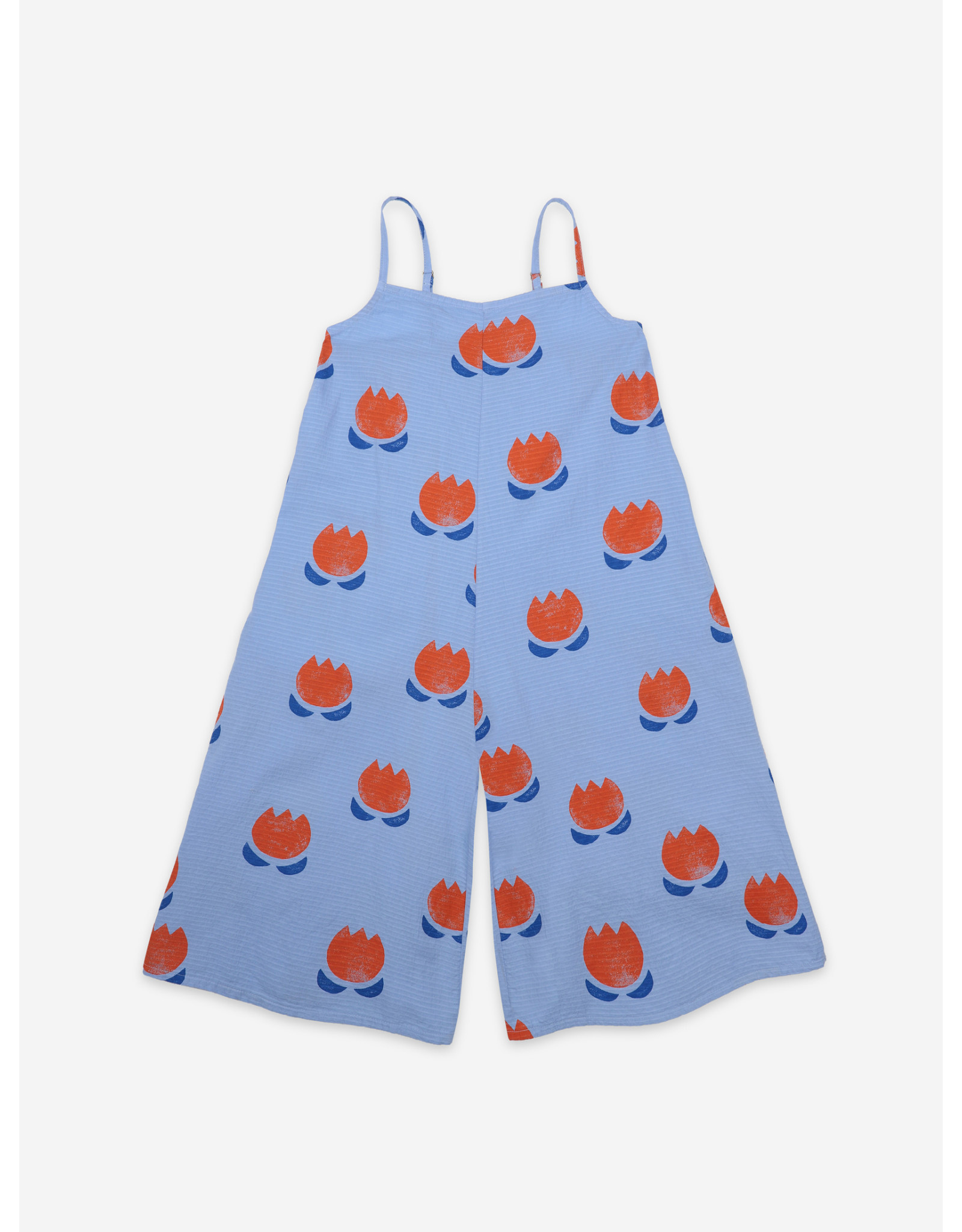 Bobo Choses Bobo Choses Chocolate Flowers All Over Woven Overall