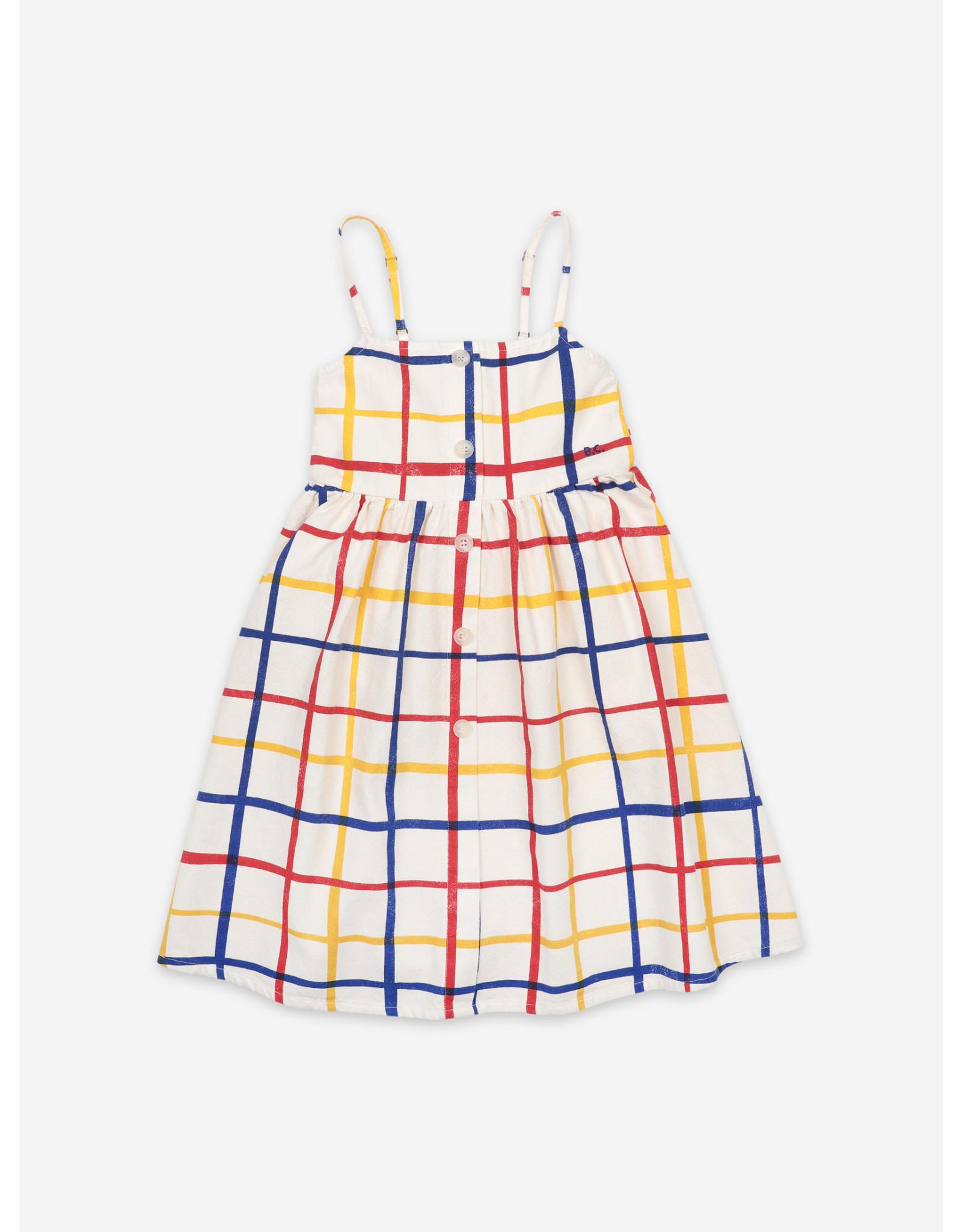 Bobo Choses Bobo Choses Multicolor Checkered Woven Dress