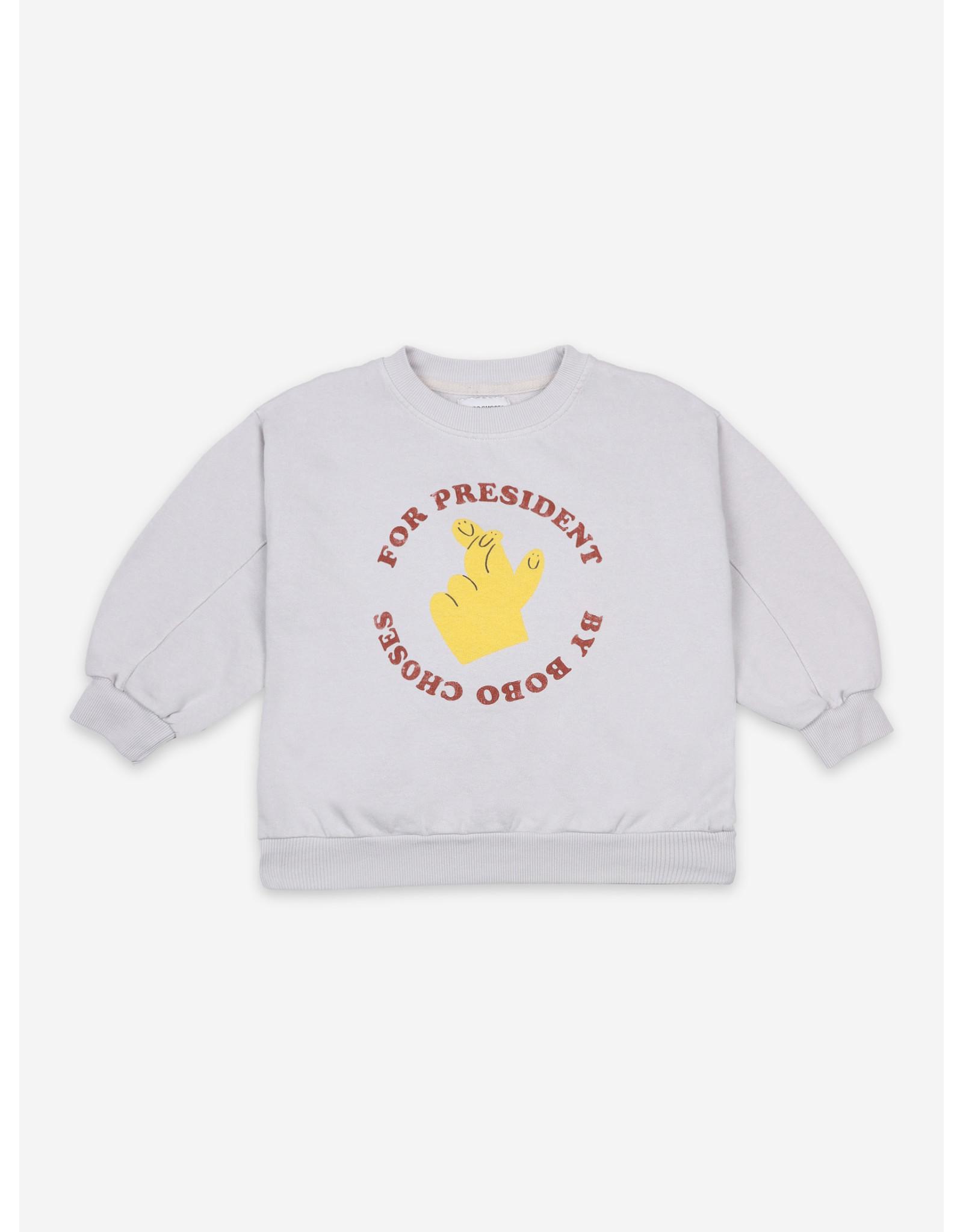 Bobo Choses Bobo Choses Fingers Crossed Sweatshirt