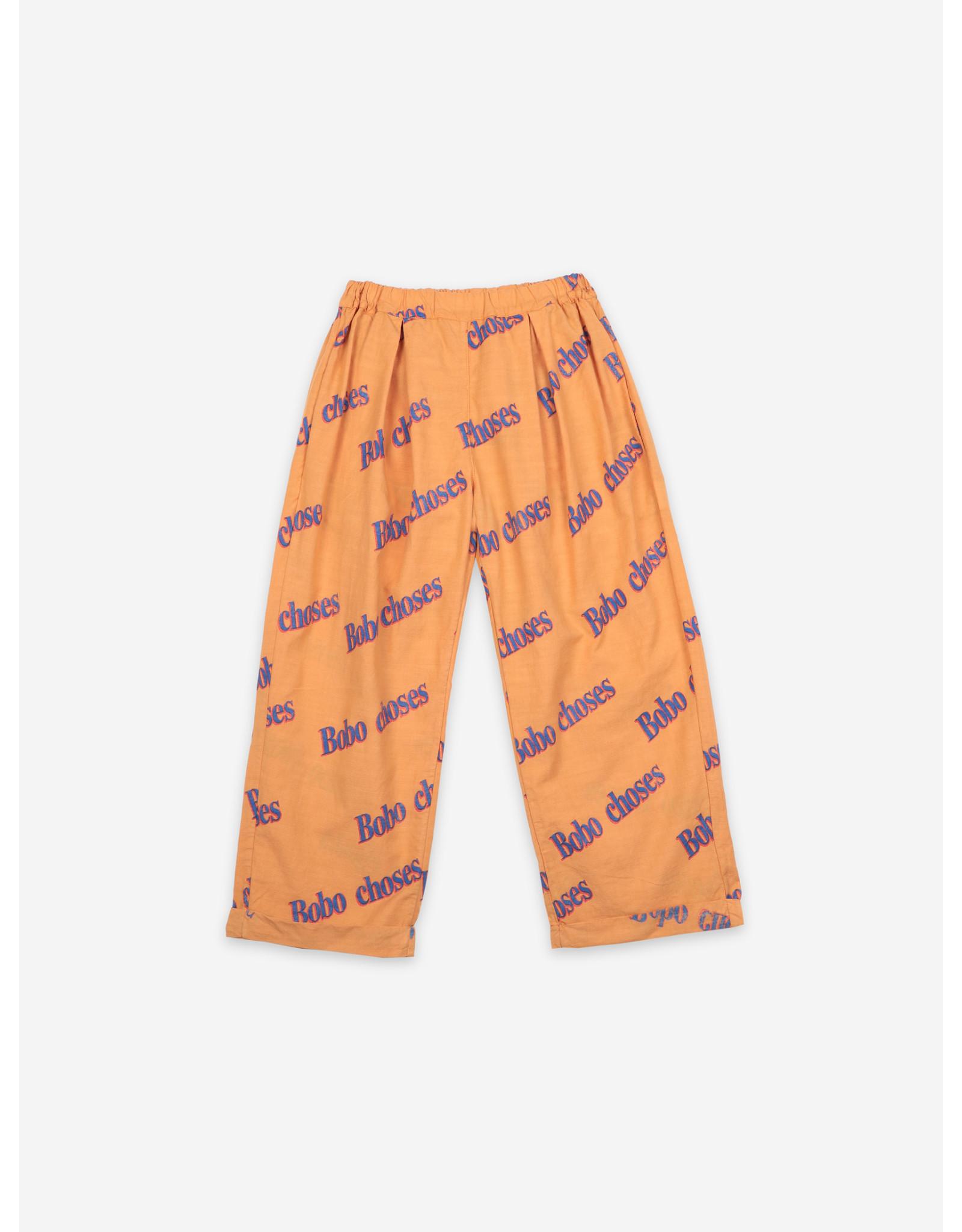 Bobo Choses Bobo Choses Bobo Retro All Over Baggy Trousers