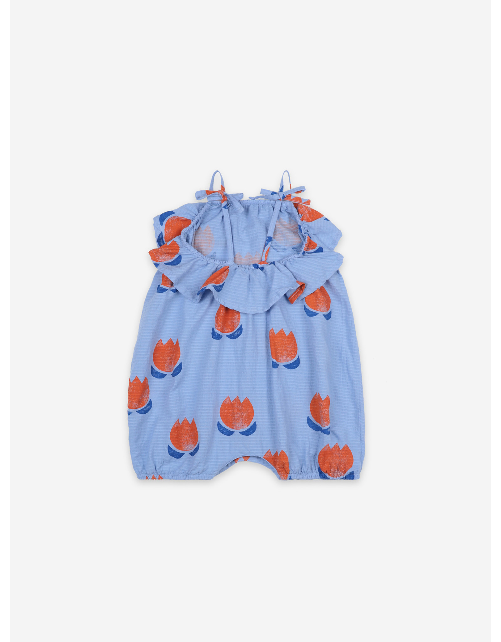 Bobo Choses Bobo Choses Chocolate Flowers All Over Woven Romper
