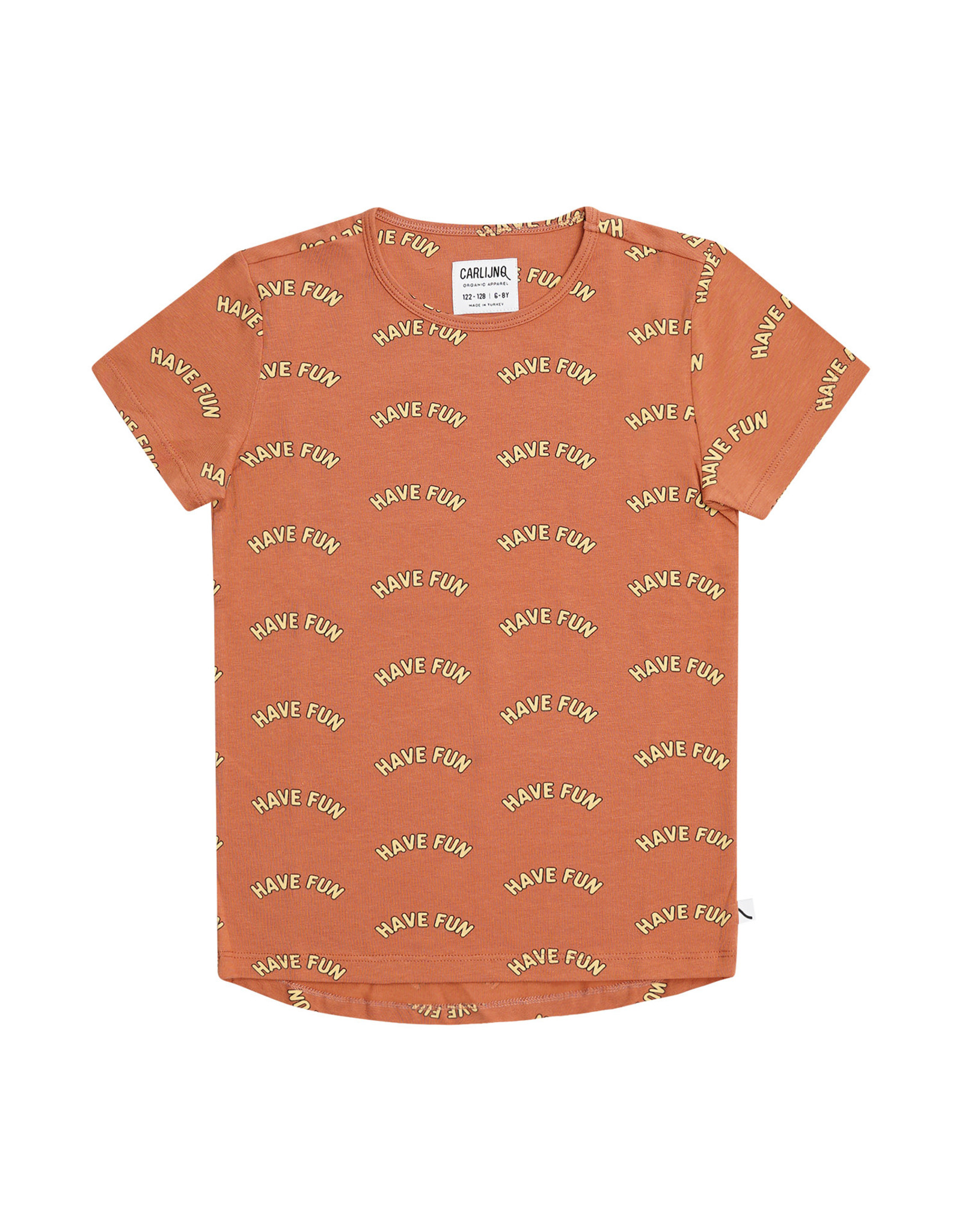 Carlijn Q Carlijn Q Have Fun - Short Sleeve Dropback