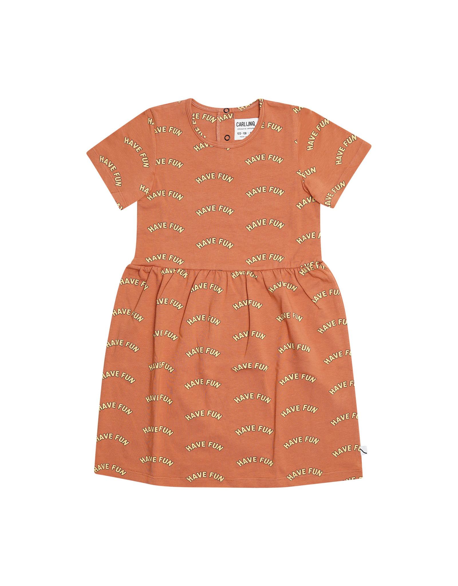 Carlijn Q Carlijn Q Have Fun - Dress Short sleeves