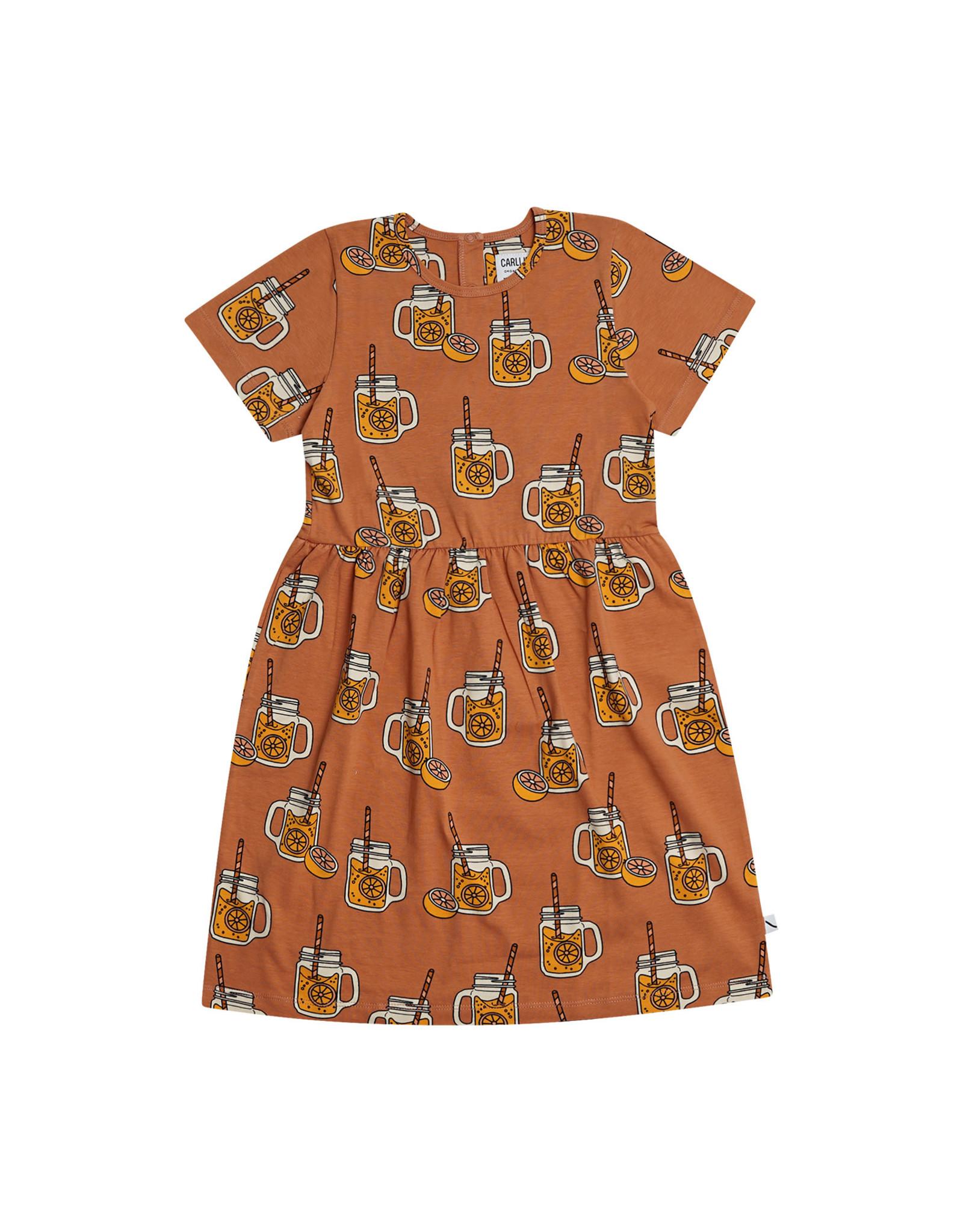 Carlijn Q Carlijn Q Lemonade - Dress Short Sleeve