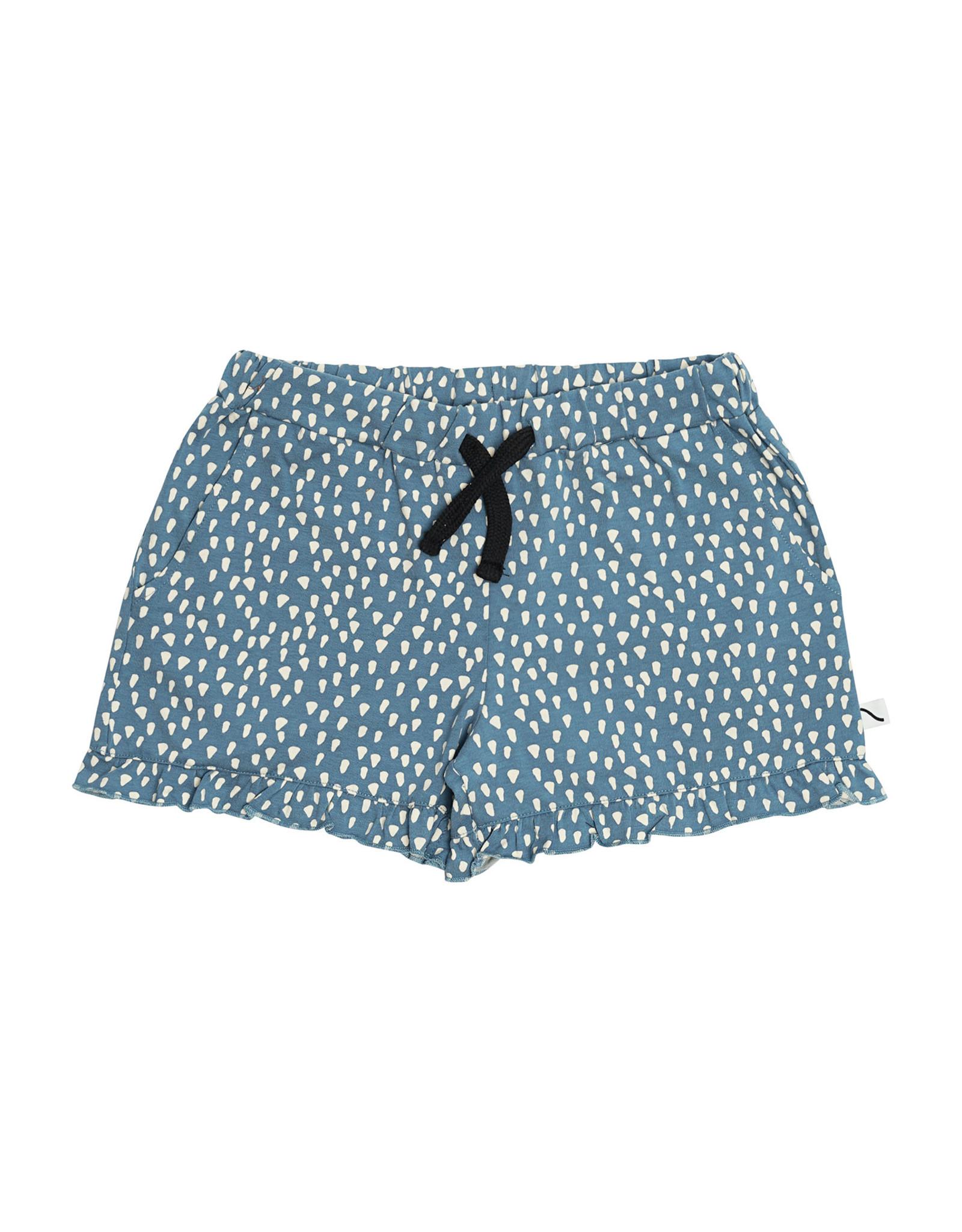 Carlijn Q Carlijn Q Petrol Sparkles - Ruffled Shorts