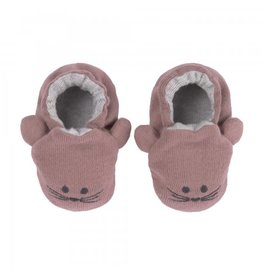 Lassig Lassig Baby Shoes GOTS Little Chums Mouse, One Size