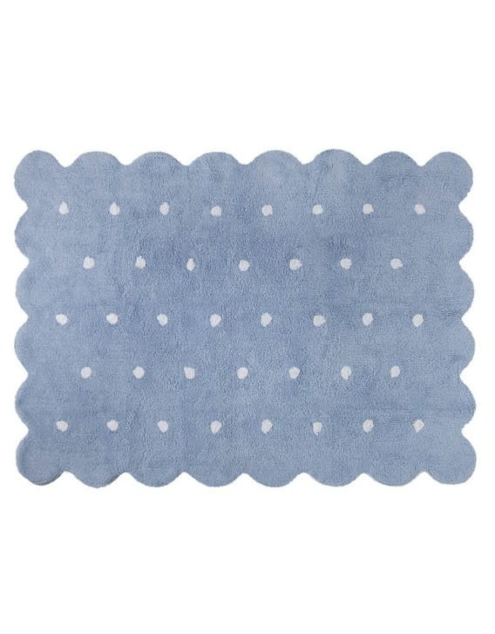 Lorena canals Lorena CanalsWashable Rug Biscuit Blue 120x160