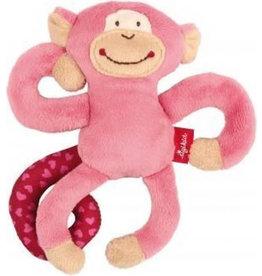 Sigikid Sigikid Textile Clip Monkey Pink