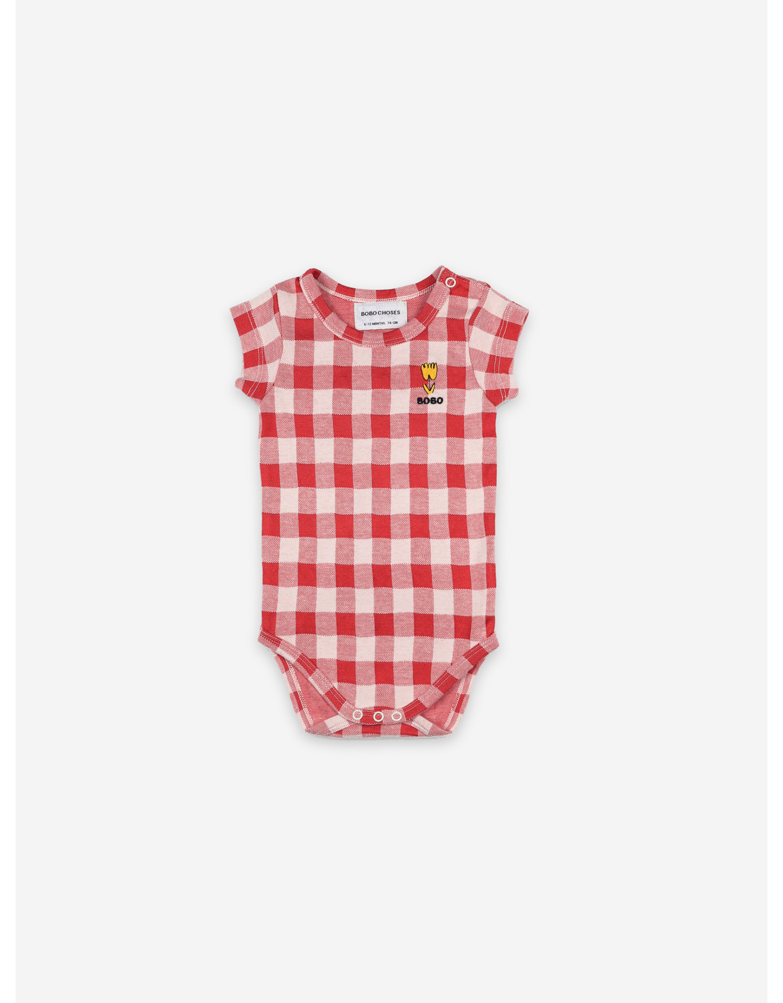 Bobo Choses Bobo Choses Vichy Short Sleeve Body