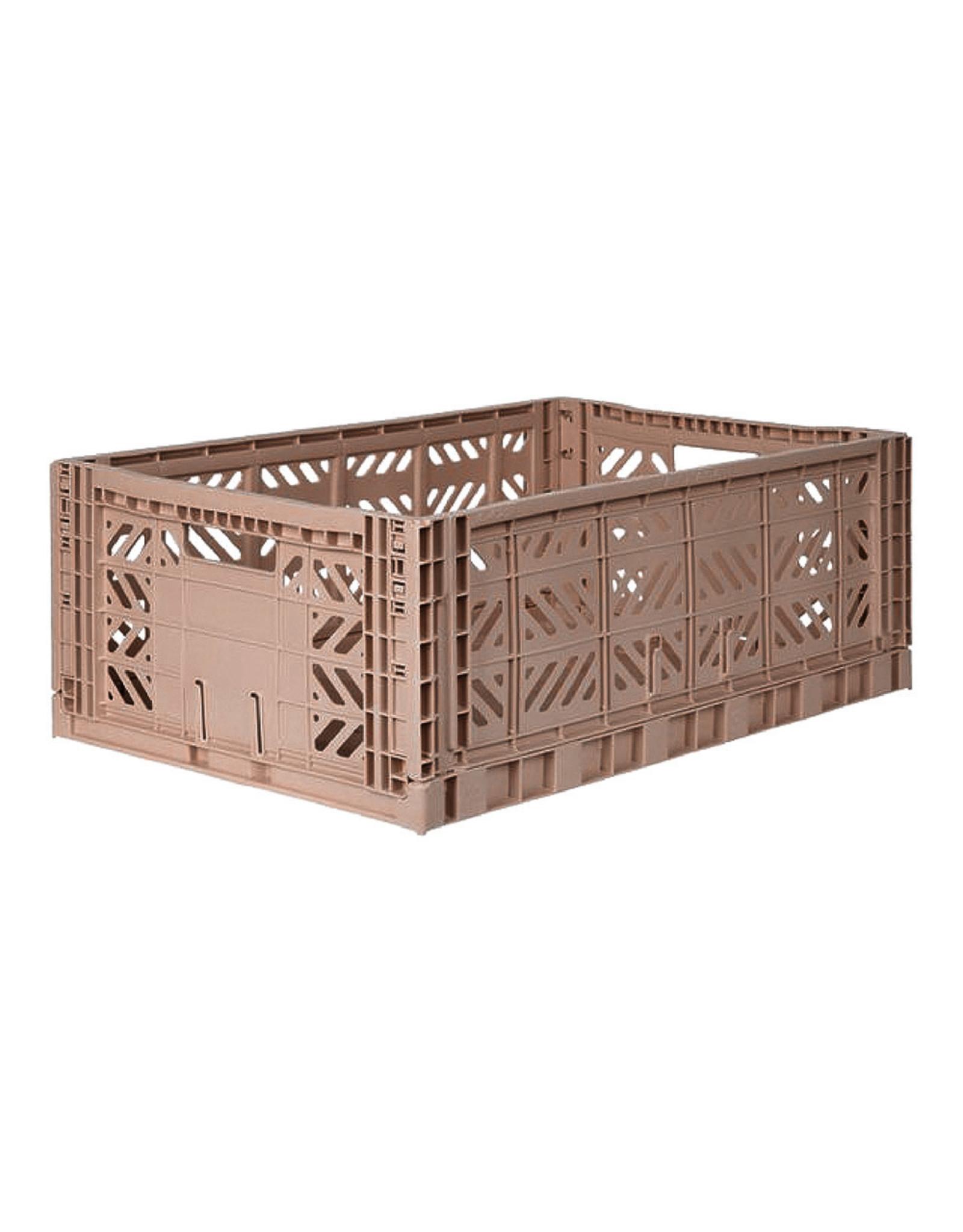 Ay-Kasa Aykasa Box - Maxi - Warm Taupe