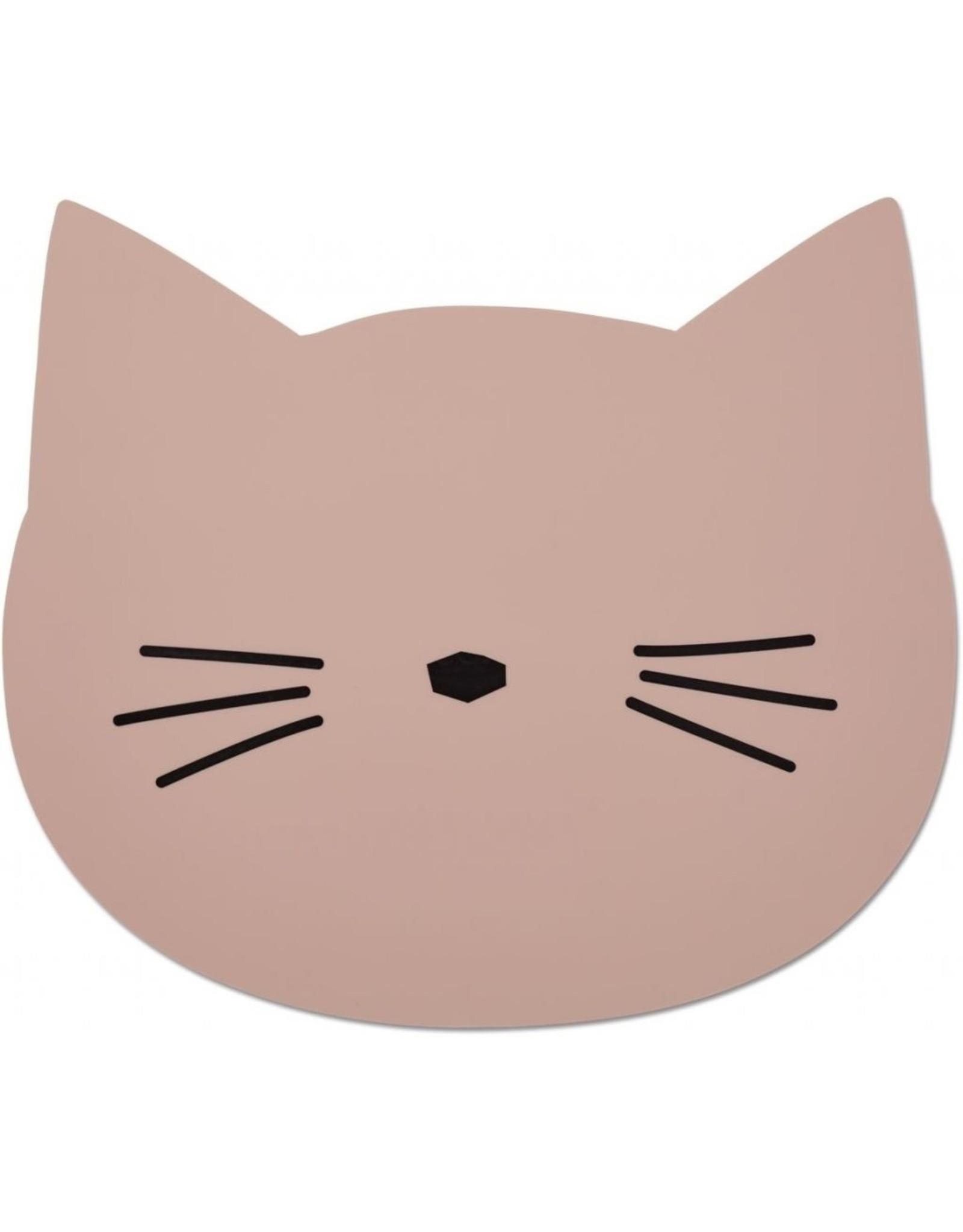 Liewood Aura Placemat - Cat Rose