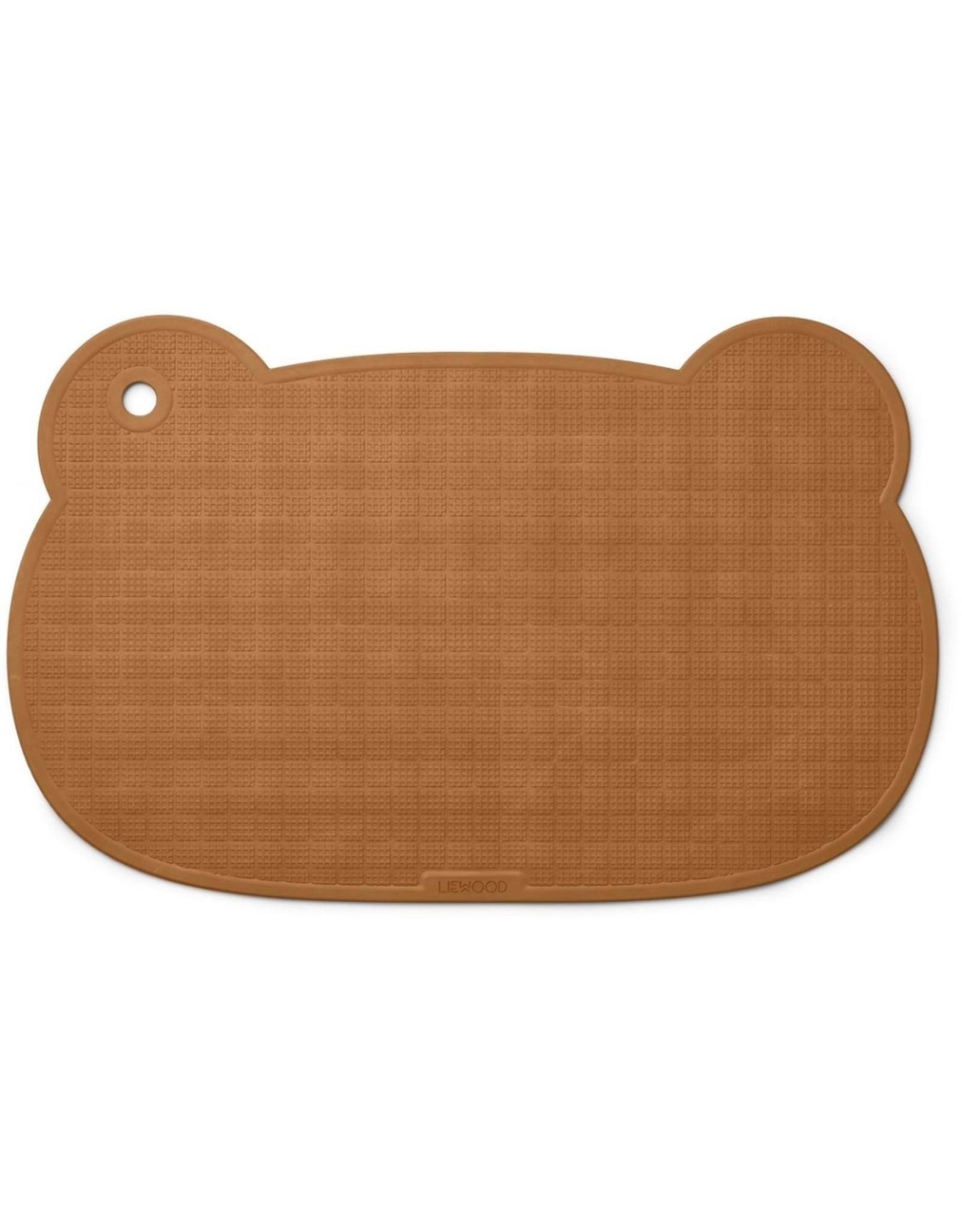 Liewood Sailor Bath Mat - Mr Bear Mustard