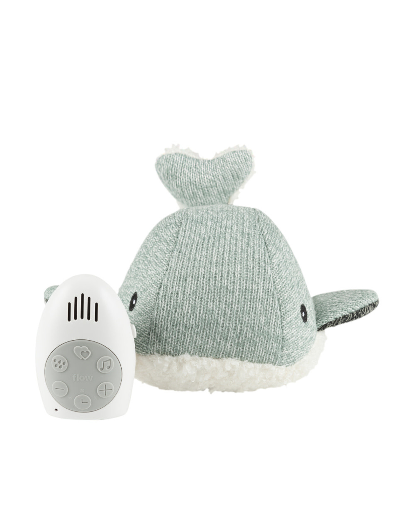 Flow Flow Heartbeat Comforter - Moby the Whale - Green