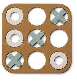 Liewood Kelsey Tic Tac Toe Golden Caramel Multi Mix