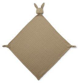 Liewood Robbie Multi Muslin Cloth Rabbit Oat (60x60)